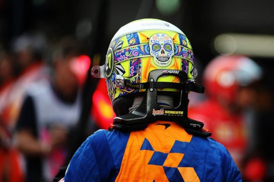 Lando Norris (GBR) McLaren. 25.10.2019. Formula 1 World Championship, Rd 18, Mexican Grand Prix, Mexico City, Mexico, Practice Day. - www.xpbimages.com, EMail: requests@xpbimages.com © Copyright: Batchelor / XPB Images