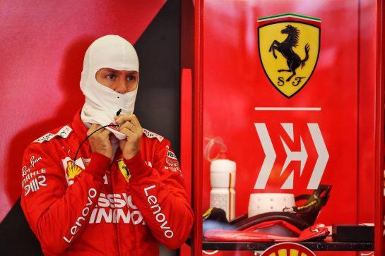 Sebastian Vettel (GER) Ferrari. 26.10.2019. Formula 1 World Championship, Rd 18, Mexican Grand Prix, Mexico City, Mexico, Qualifying Day. - www.xpbimages.com, EMail: requests@xpbimages.com © Copyright: Batchelor / XPB Images