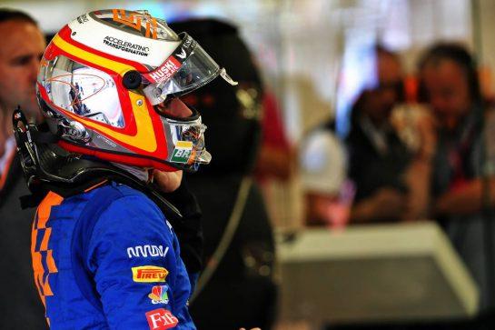 Carlos Sainz Jr (ESP) McLaren. 26.10.2019. Formula 1 World Championship, Rd 18, Mexican Grand Prix, Mexico City, Mexico, Qualifying Day. - www.xpbimages.com, EMail: requests@xpbimages.com © Copyright: Batchelor / XPB Images