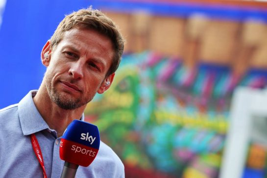 Jenson Button (GBR) Sky Sports F1 Presenter. 26.10.2019. Formula 1 World Championship, Rd 18, Mexican Grand Prix, Mexico City, Mexico, Qualifying Day. - www.xpbimages.com, EMail: requests@xpbimages.com © Copyright: Moy / XPB Images