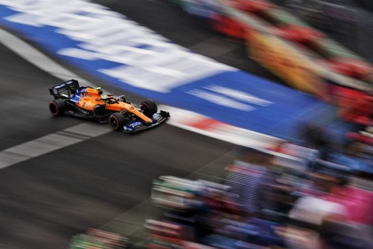 Lando Norris (GBR) McLaren MCL34.                                26.10.2019. Formula 1 World Championship, Rd 18, Mexican Grand Prix, Mexico City, Mexico, Qualifying Day.  - www.xpbimages.com, EMail: requests@xpbimages.com © Copyright: Dungan / XPB Images