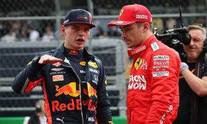 Russell sees 'fierce rivalry' ahead between Verstappen and Leclerc