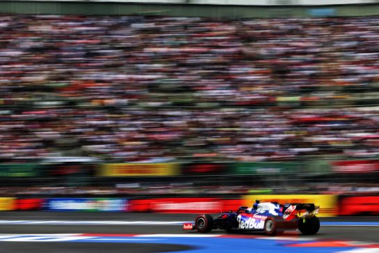 Pierre Gasly (FRA) Scuderia Toro Rosso STR14. 26.10.2019. Formula 1 World Championship, Rd 18, Mexican Grand Prix, Mexico City, Mexico, Qualifying Day. - www.xpbimages.com, EMail: requests@xpbimages.com © Copyright: Moy / XPB Images