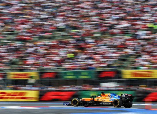 Carlos Sainz Jr (ESP) McLaren MCL34. 26.10.2019. Formula 1 World Championship, Rd 18, Mexican Grand Prix, Mexico City, Mexico, Qualifying Day. - www.xpbimages.com, EMail: requests@xpbimages.com © Copyright: Moy / XPB Images