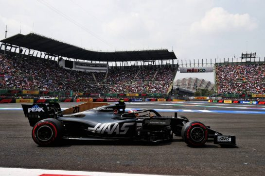 Kevin Magnussen (DEN) Haas VF-19. 26.10.2019. Formula 1 World Championship, Rd 18, Mexican Grand Prix, Mexico City, Mexico, Qualifying Day. - www.xpbimages.com, EMail: requests@xpbimages.com © Copyright: Moy / XPB Images