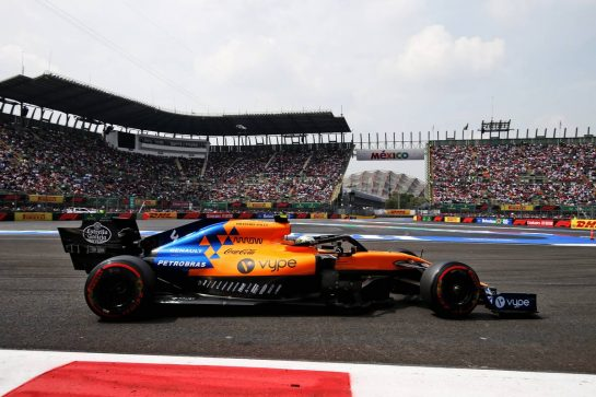 Lando Norris (GBR) McLaren MCL34. 26.10.2019. Formula 1 World Championship, Rd 18, Mexican Grand Prix, Mexico City, Mexico, Qualifying Day. - www.xpbimages.com, EMail: requests@xpbimages.com © Copyright: Moy / XPB Images