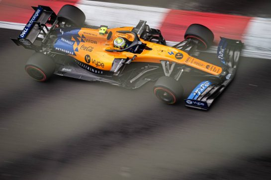Lando Norris (GBR) McLaren MCL34. 26.10.2019. Formula 1 World Championship, Rd 18, Mexican Grand Prix, Mexico City, Mexico, Qualifying Day.  - www.xpbimages.com, EMail: requests@xpbimages.com © Copyright: Bearne / XPB Images