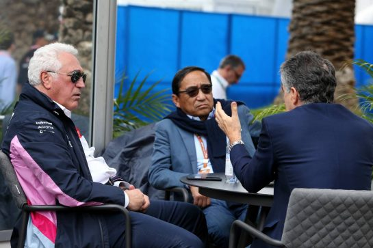 Lawrence Stroll (CDN) Racing Point F1 Team Investor. 26.10.2019. Formula 1 World Championship, Rd 18, Mexican Grand Prix, Mexico City, Mexico, Qualifying Day. - www.xpbimages.com, EMail: requests@xpbimages.com © Copyright: Moy / XPB Images