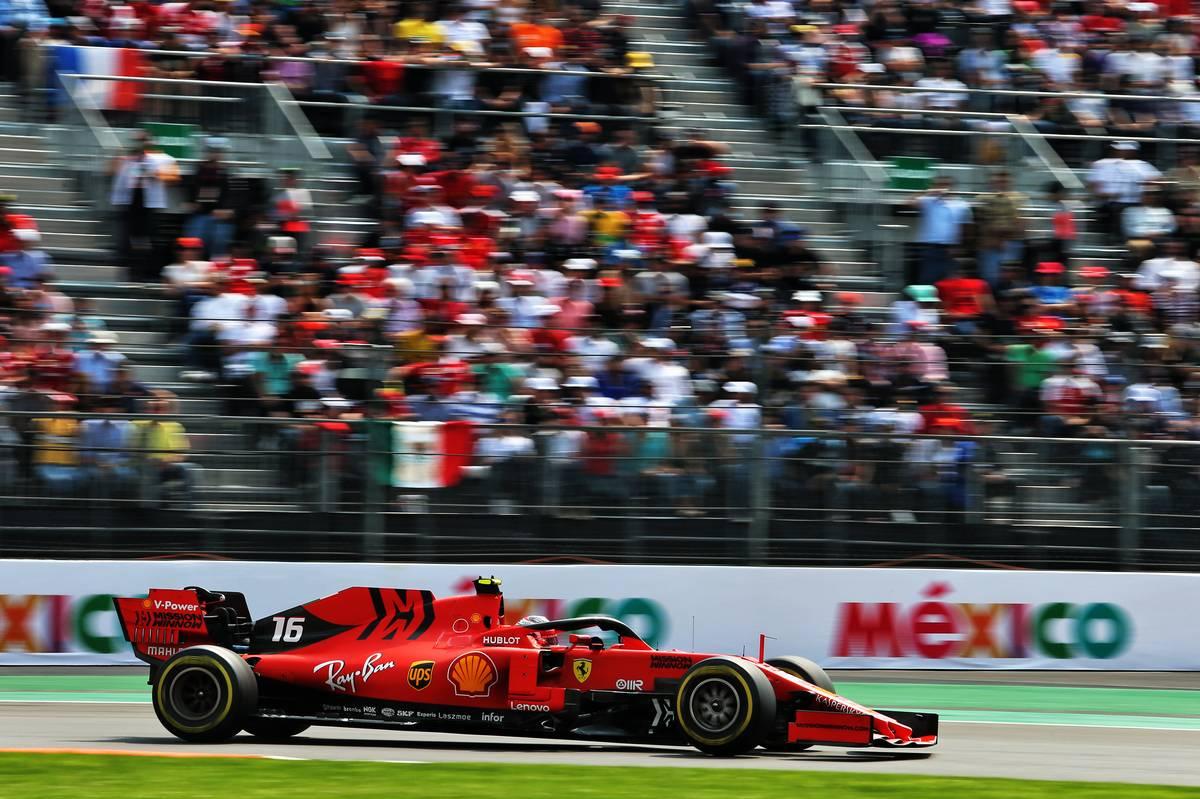 Charles Leclerc (MON) Ferrari SF90.
