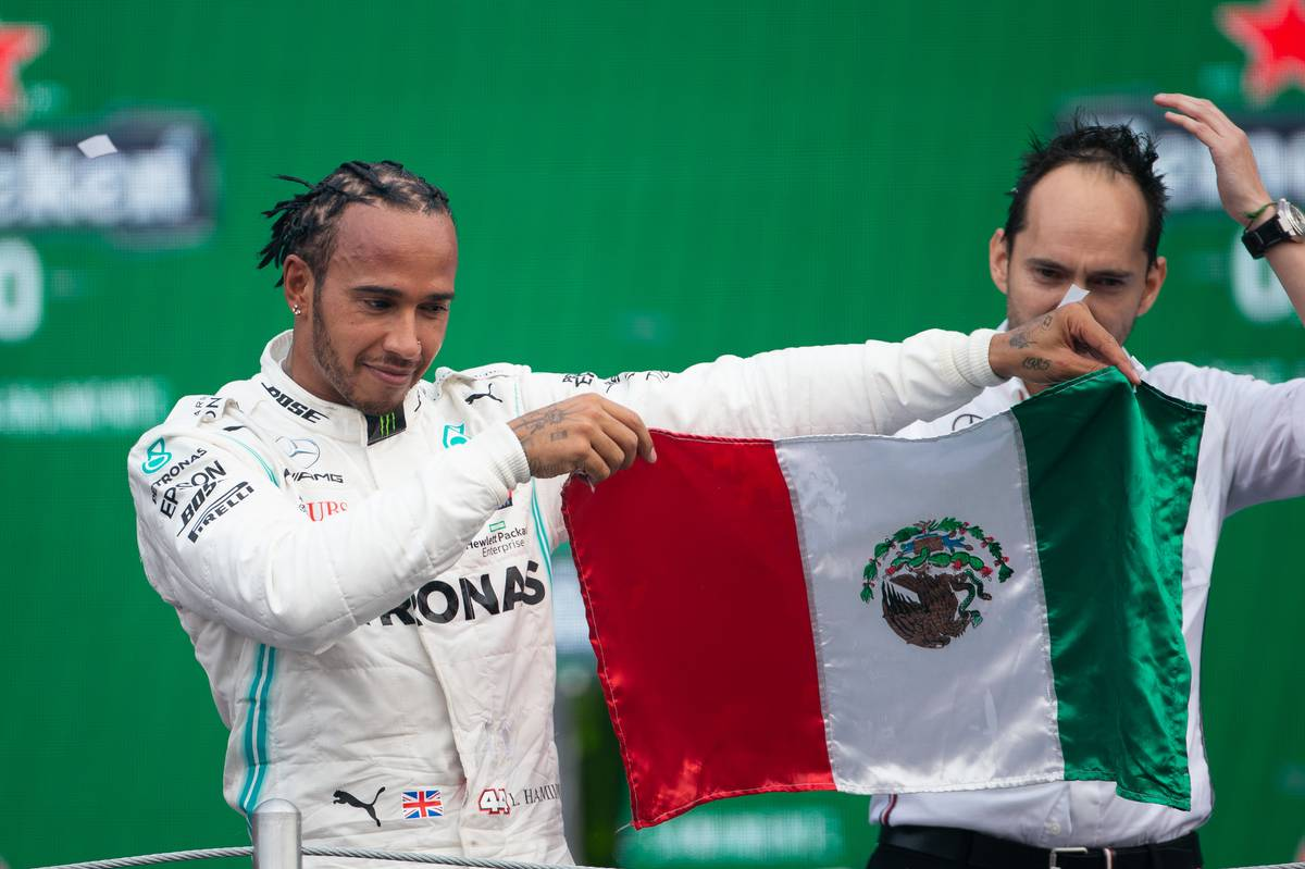 1st place Lewis Hamilton (GBR) Mercedes AMG F1 W10.