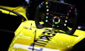Renault F1 Team RS19 steering wheel. 29.03.2019.