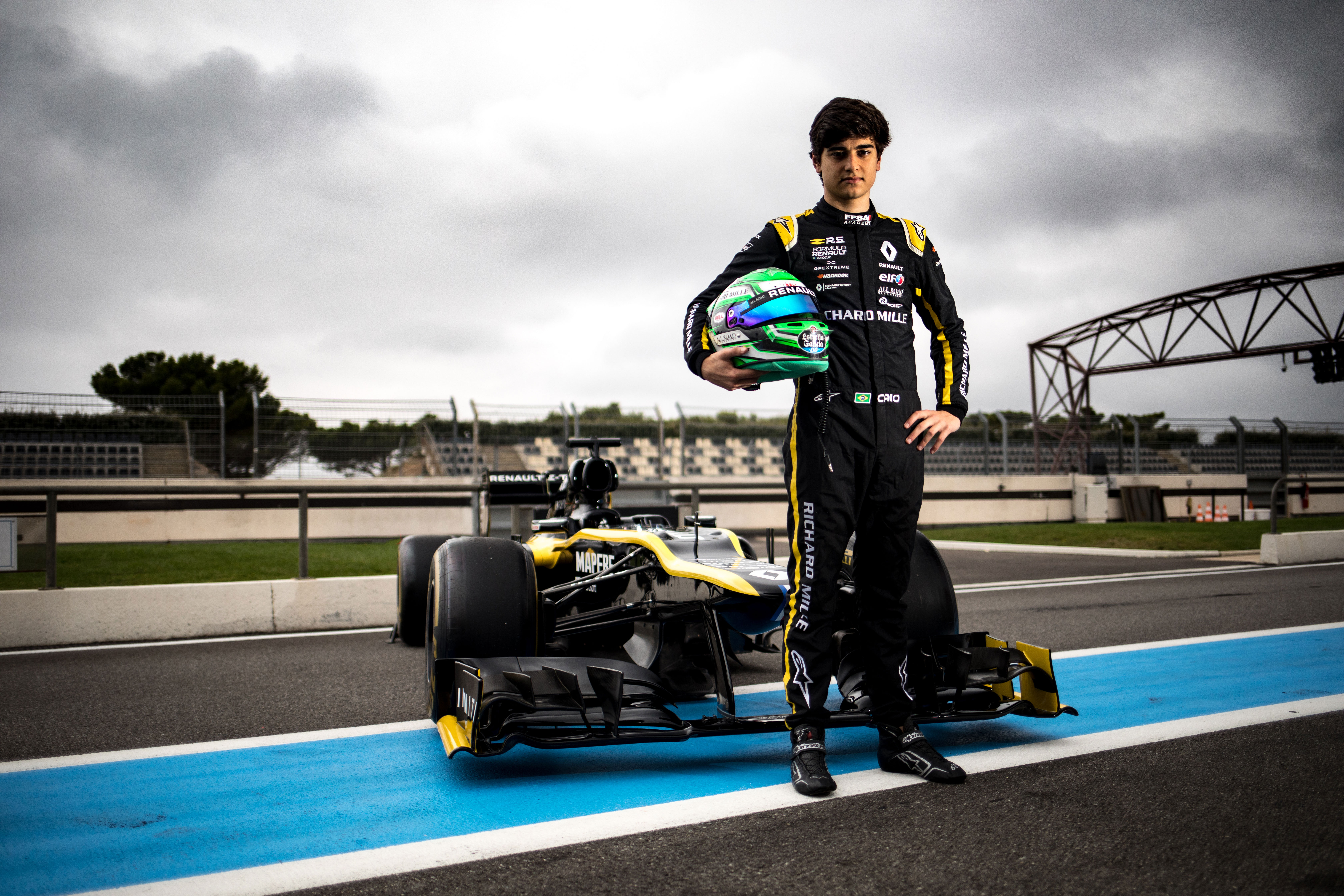 Renault Sport Academy Driver Caio Collet