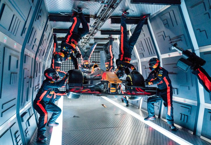 Red Bull zero gravity pit stop: F1 teams mind-boggling performance creates history