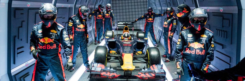 This Red Bull pit stop was like nothing on Earth!