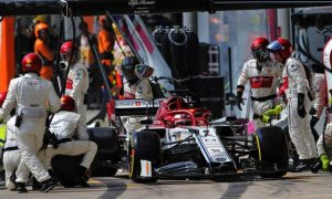 Alfa Romeo 'happy and proud' of double top 5 finish