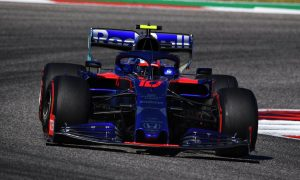 Kvyat kicked out of the points by stewards… again!