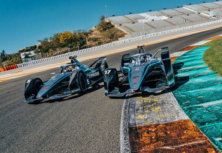 Mercedes-Benz EQ Formula E Team on track
