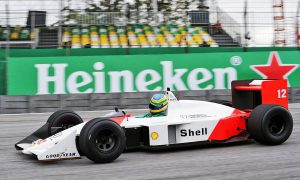 Senna offers fans a slice of family history