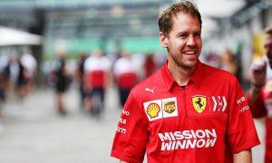 Vettel backs F1's 'ambitious' net zero carbon target