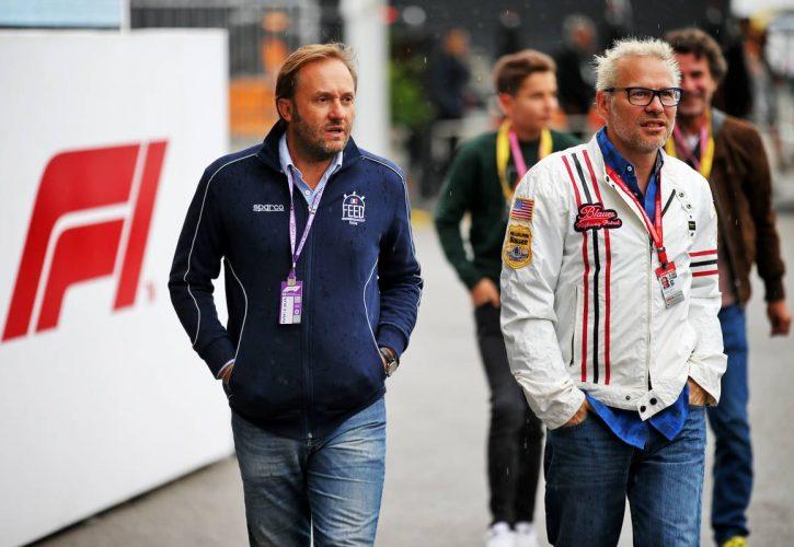Jacques Villeneuve (CDN) (Right). 06.09.2019.