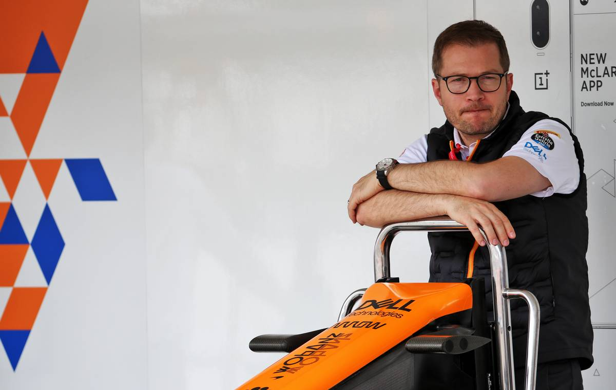 Andreas Seidl, McLaren Managing Director.