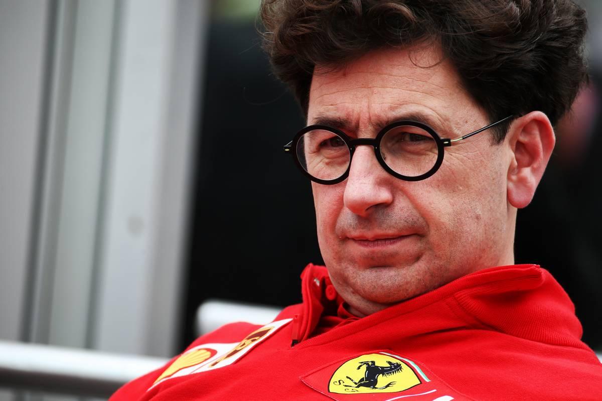 Mattia Binotto (ITA) Ferrari Team Principal.