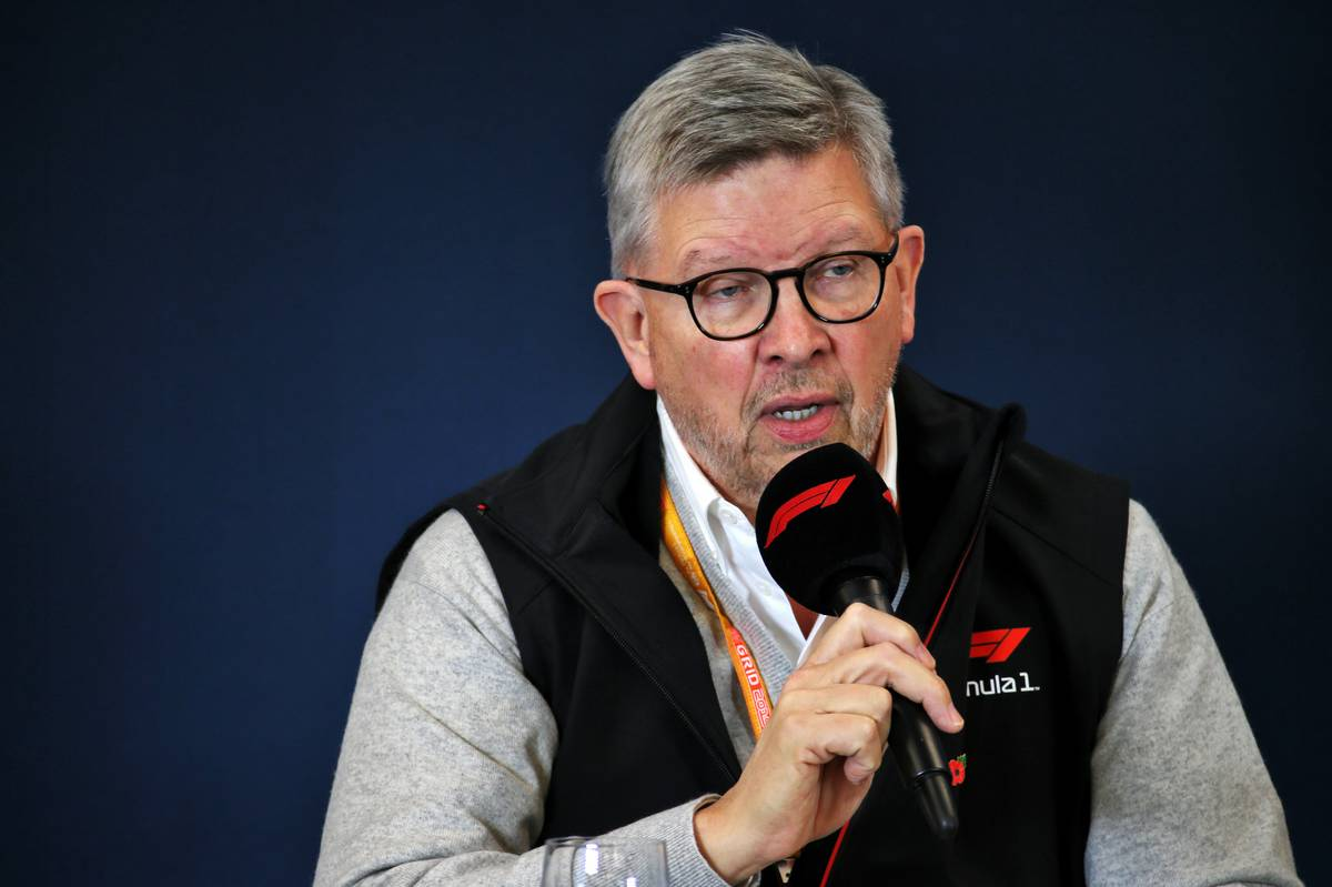 Ross Brawn (GBR) Managing Director, Motor Sports at a 2021 Regulations Press Conference. 31.10.2019.