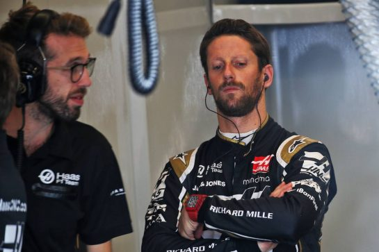 Romain Grosjean (FRA) Haas F1 Team.