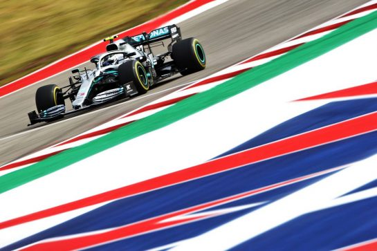 Valtteri Bottas (FIN) Mercedes AMG F1 W10. 01.11.2019. Formula 1 World Championship, Rd 19, United States Grand Prix, Austin, Texas, USA, Practice Day. - www.xpbimages.com, EMail: requests@xpbimages.com © Copyright: Bearne / XPB Images