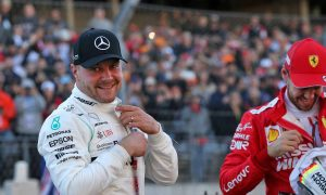 'Happy days' for Bottas and Wolff with US pole