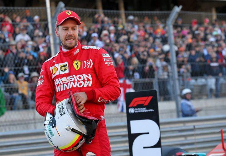 Sebastian Vettel (GER) Ferrari. 02.11.2019.