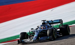 Mercedes explains reason for Hamilton's COTA qualifying dip