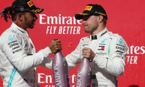 Bottas wins in Austin as Hamilton clinches sixth title