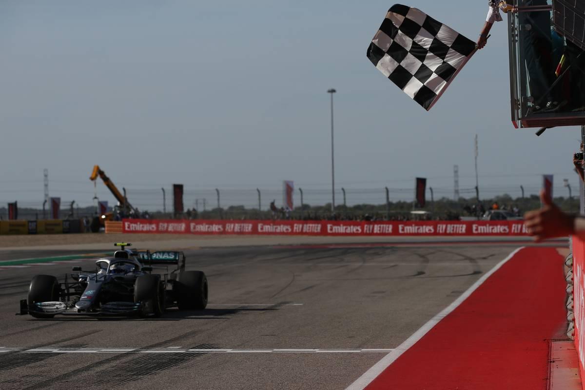 1st place Valtteri Bottas (FIN) Mercedes AMG F1 W10