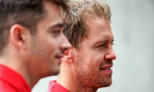 Ferrari has 'cleared the air' between Vettel and Leclerc