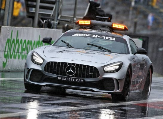 The FIA Safety Car.