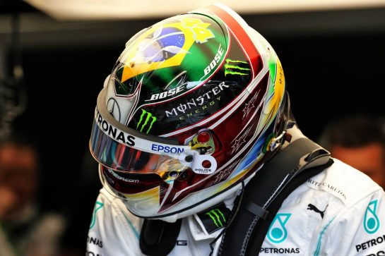 Lewis Hamilton (GBR) Mercedes AMG F1.