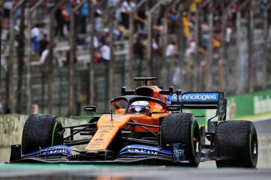 Carlos Sainz Jr (ESP) McLaren MCL34. 15.11.2019. Formula 1 World Championship, Rd 20, Brazilian Grand Prix, Sao Paulo, Brazil, Practice Day. - www.xpbimages.com, EMail: requests@xpbimages.com © Copyright: Batchelor / XPB Images