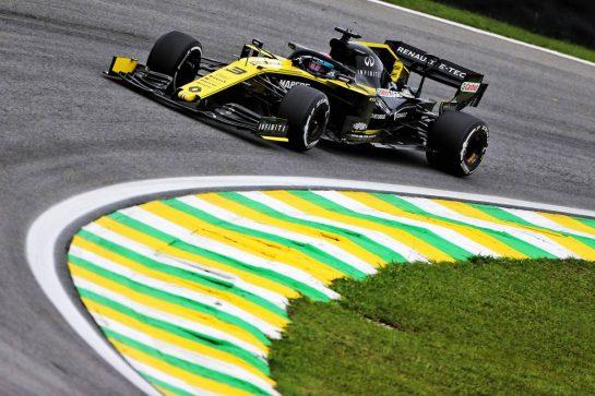 Daniel Ricciardo (AUS) Renault F1 Team RS19. 15.11.2019. Formula 1 World Championship, Rd 20, Brazilian Grand Prix, Sao Paulo, Brazil, Practice Day. - www.xpbimages.com, EMail: requests@xpbimages.com © Copyright: Photo4 / XPB Images
