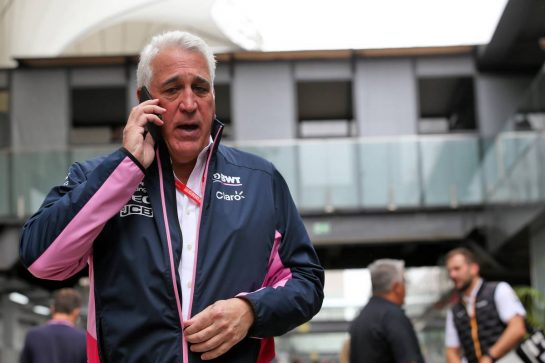 Lawrence Stroll (CDN) Racing Point F1 Team Investor. 16.11.2019. Formula 1 World Championship, Rd 20, Brazilian Grand Prix, Sao Paulo, Brazil, Qualifying Day. - www.xpbimages.com, EMail: requests@xpbimages.com © Copyright: Batchelor / XPB Images