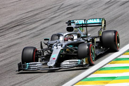 Lewis Hamilton (GBR) Mercedes AMG F1 W10. 16.11.2019. Formula 1 World Championship, Rd 20, Brazilian Grand Prix, Sao Paulo, Brazil, Qualifying Day. - www.xpbimages.com, EMail: requests@xpbimages.com © Copyright: Charniaux / XPB Images