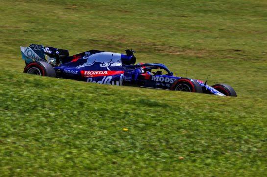 Daniil Kvyat (RUS) Scuderia Toro Rosso STR14. 16.11.2019. Formula 1 World Championship, Rd 20, Brazilian Grand Prix, Sao Paulo, Brazil, Qualifying Day. - www.xpbimages.com, EMail: requests@xpbimages.com © Copyright: Moy / XPB Images