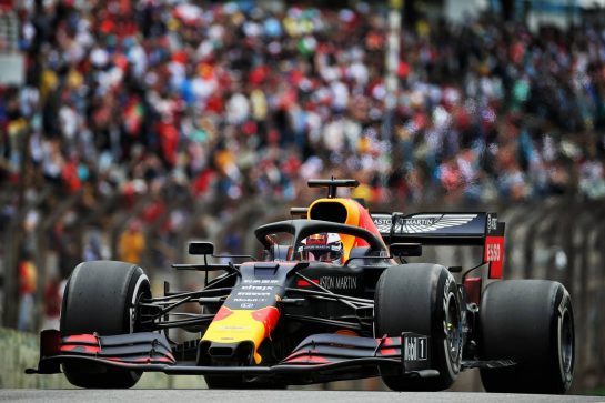Max Verstappen (NLD) Red Bull Racing RB15. 16.11.2019. Formula 1 World Championship, Rd 20, Brazilian Grand Prix, Sao Paulo, Brazil, Qualifying Day. - www.xpbimages.com, EMail: requests@xpbimages.com © Copyright: Batchelor / XPB Images