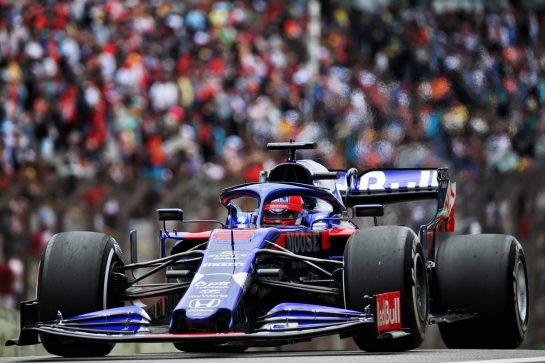 Daniil Kvyat (RUS) Scuderia Toro Rosso STR14. 16.11.2019. Formula 1 World Championship, Rd 20, Brazilian Grand Prix, Sao Paulo, Brazil, Qualifying Day. - www.xpbimages.com, EMail: requests@xpbimages.com © Copyright: Batchelor / XPB Images