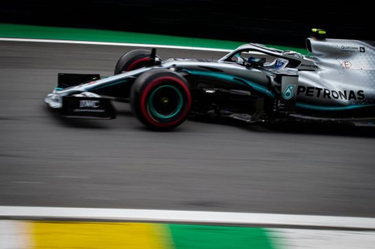 Valtteri Bottas (FIN) Mercedes AMG F1 W10. 16.11.2019. Formula 1 World Championship, Rd 20, Brazilian Grand Prix, Sao Paulo, Brazil, Qualifying Day.  - www.xpbimages.com, EMail: requests@xpbimages.com © Copyright: Bearne / XPB Images