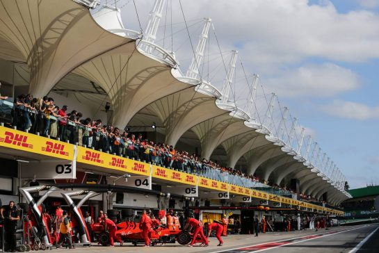 Sebastian Vettel (GER), Scuderia Ferrari 16.11.2019. Formula 1 World Championship, Rd 20, Brazilian Grand Prix, Sao Paulo, Brazil, Qualifying Day.- www.xpbimages.com, EMail: requests@xpbimages.com © Copyright: Charniaux / XPB Images