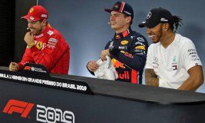 Vettel teases 'suspicions' over Verstappen's pole pace