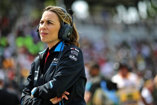Claire Williams (GBR) Williams Racing Deputy Team Principal on the grid. 17.11.2019. Formula 1 World Championship, Rd 20, Brazilian Grand Prix, Sao Paulo, Brazil, Race Day.  - www.xpbimages.com, EMail: requests@xpbimages.com © Copyright: Bearne / XPB Images