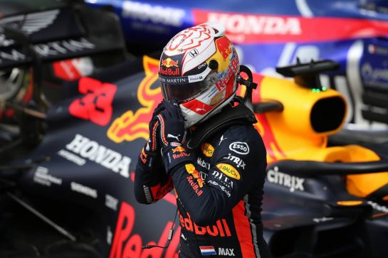 1st place Max Verstappen (NLD) Red Bull Racing RB15. 17.11.2019. Formula 1 World Championship, Rd 20, Brazilian Grand Prix, Sao Paulo, Brazil, Race Day. - www.xpbimages.com, EMail: requests@xpbimages.com © Copyright: Batchelor / XPB Images