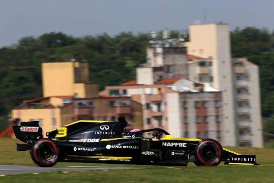 Daniel Ricciardo (AUS) Renault Sport F1 Team RS19.17.11.2019. Formula 1 World Championship, Rd 20, Brazilian Grand Prix, Sao Paulo, Brazil, Race Day.- www.xpbimages.com, EMail: requests@xpbimages.com © Copyright: Moy / XPB Images